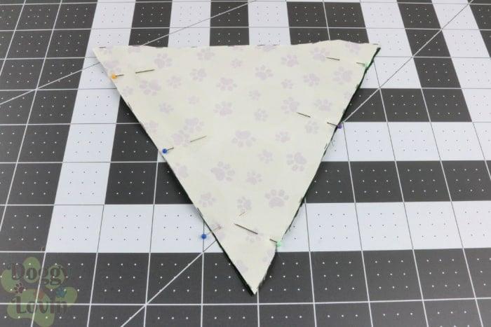 Pin fabrics together