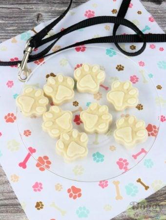 Banana Yogurt Frozen Treats For Dogs